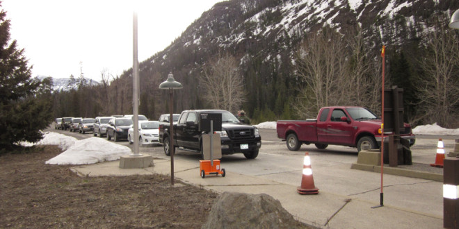 Yellowstone East Entrance Open; Progress on Plowing to South Entrance