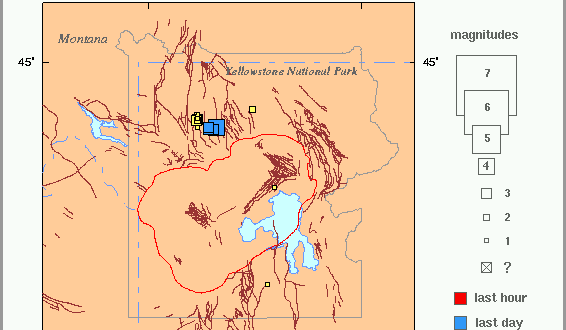 Earthquakes Hit Yellowstone; Felt in Gateway Communities