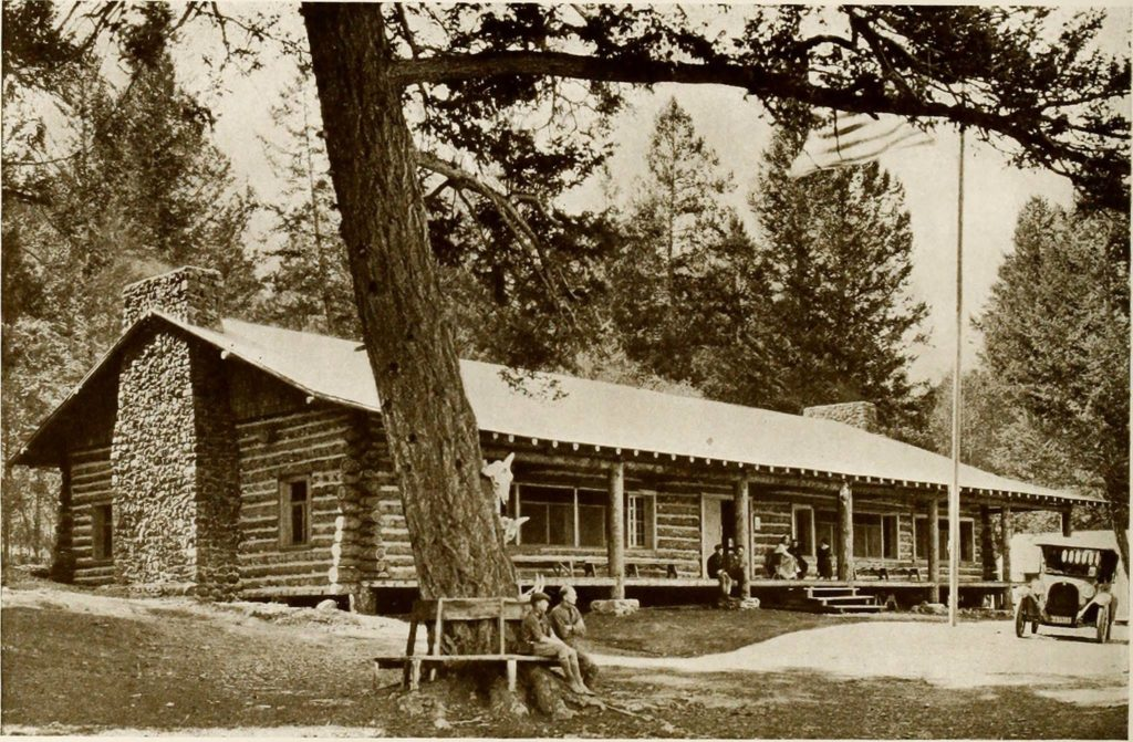 main building of roosevelt camp present day lodge 1920