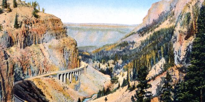 Postcard of Golden Gate;Frank J Haynes;No date