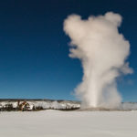 Old Faithful in Winter 2017 NPS