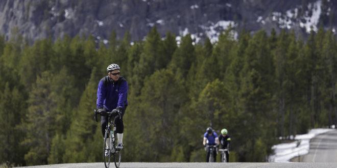 Yellowstone biking