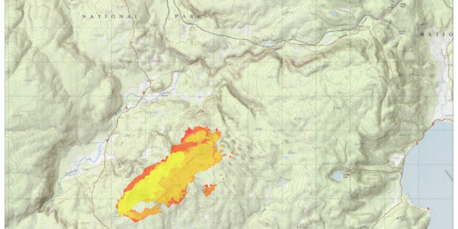 Lone Star Fire map