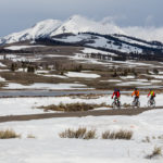 spring biking in Yellowstone